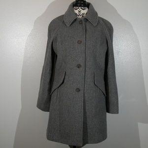 East 5th Wool Blend Pea-coat Jacket - Coat - S